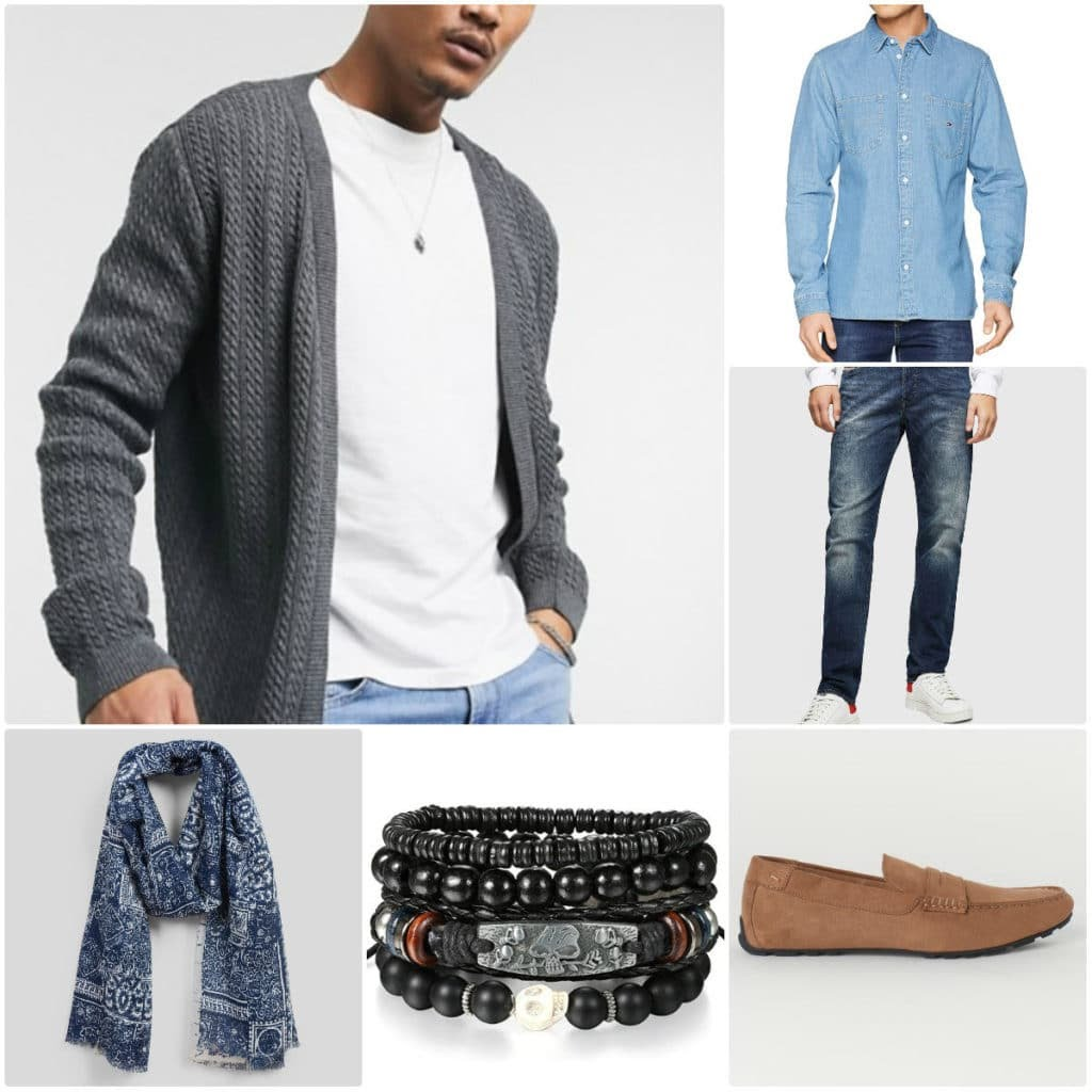 Look casual choc pour homme