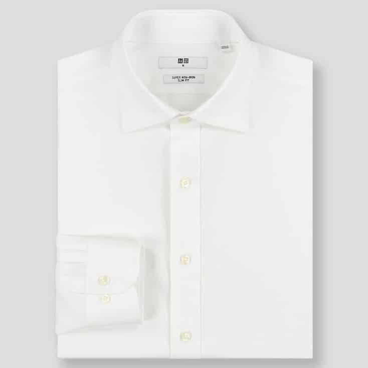 Basiques mode homme - Chemise blanche