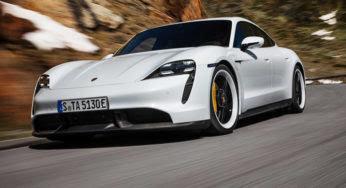 Découvrez la nouvelle Porsche Taycan