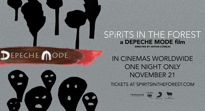 Sortie du documentaire LIVE de Depeche Mode: Spirits in the forest