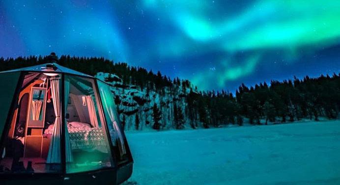 Destination originale: ouverture en avril 2020 d'un hôtel de luxe au Pôle Nord