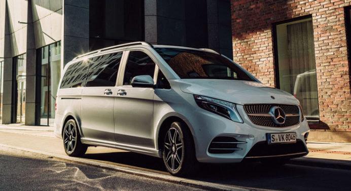 Nouvelle sortie chez Mercedes : la Classe V EQV