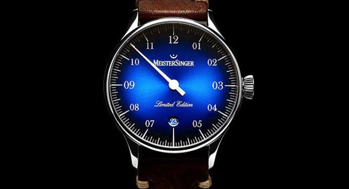 MeisterSinger lance sa « French » Pangaea Date Collector