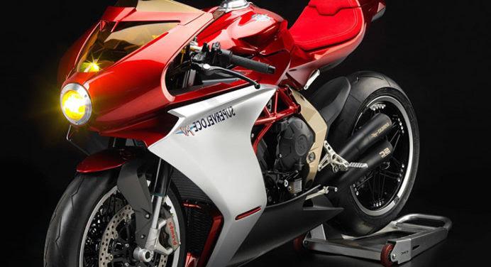 MV Agusta Superveloce800, la moto néo-futuriste