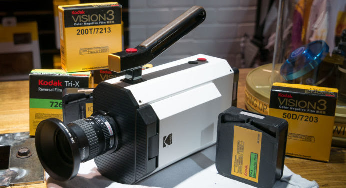 Caméra Super 8 Kodak : retour vers le futur