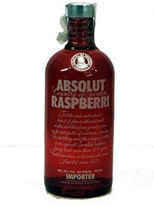 Acheter de la vodka Absolut Saveur Framboise