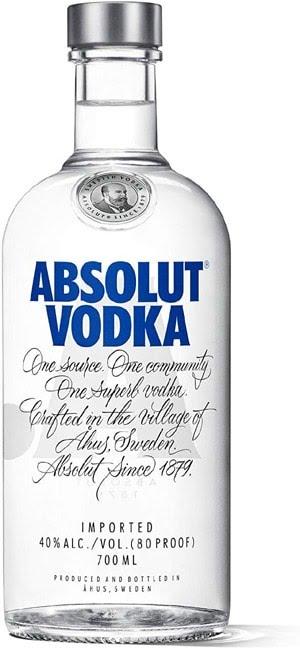 Acheter de la vodka Absolut