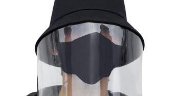 Le masque visière va-t-il devenir tendance ?