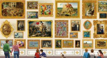 54 000 pièces pour le plus grand puzzle du monde !