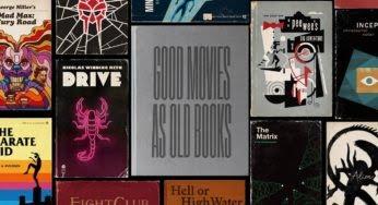 Les meilleurs films transformés en vieux livres : on aime le projet Good movies as old Books !