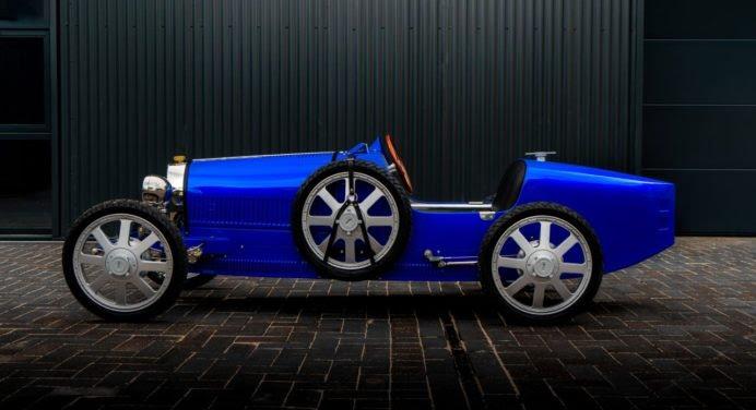Bugatti Baby II : une voiture de luxe géniale… pour les enfants !