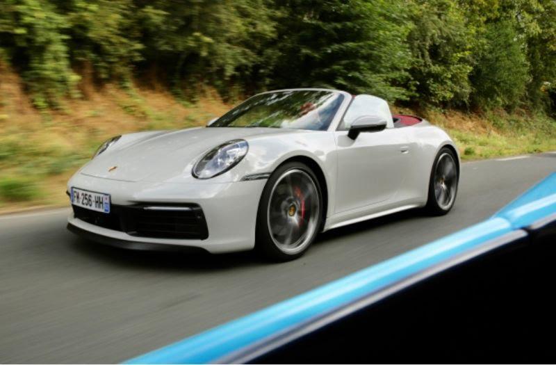 Essai de la Porsche 911 Carrera S cabriolet