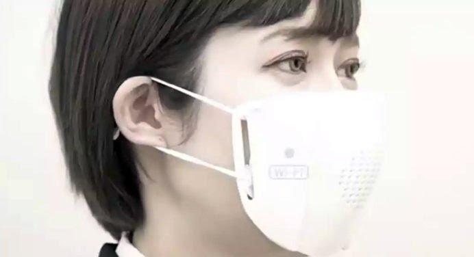 Une start-up japonaise invente un masque Covid connecté !