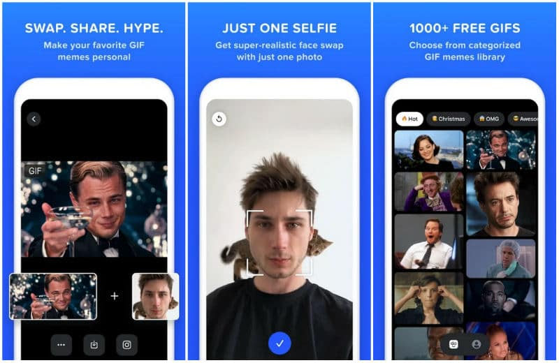 Reface - Doublicat : l'appli mobile de l'été 2020