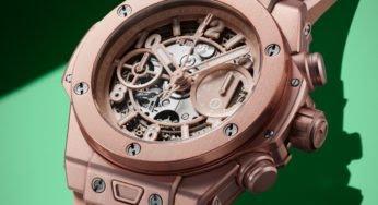 Hublot Big Bang Millenial Pink : une montre rose et… asexuée !