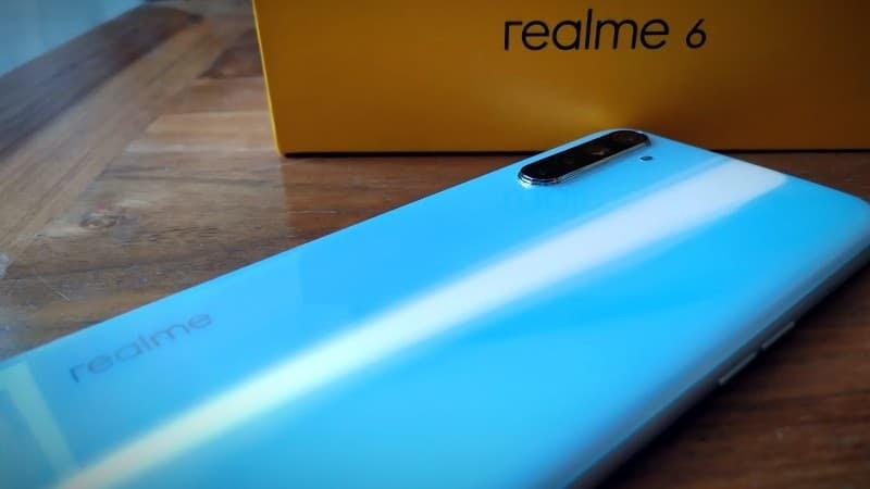 Test du smartphone Realme 6