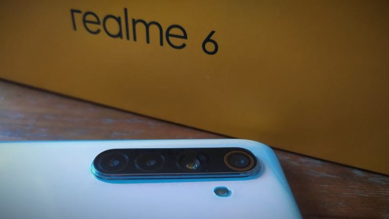 Quadruple capteur photo du Realme 6