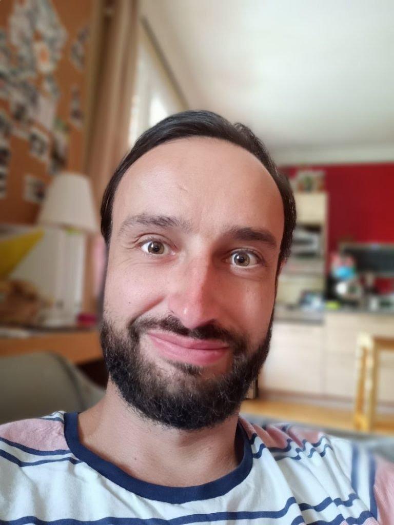 Realme 6 - mode portrait