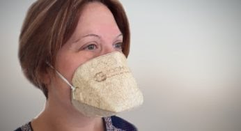 Le 1er masque écologique et biodégradable made in France !