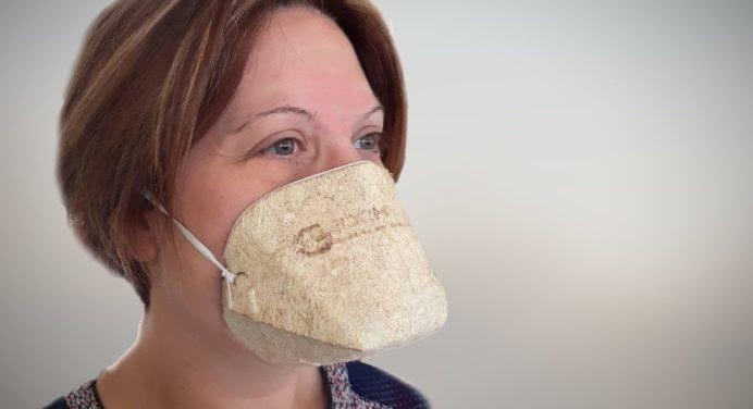 Le 1er masque écologique et biodégradable made in France !