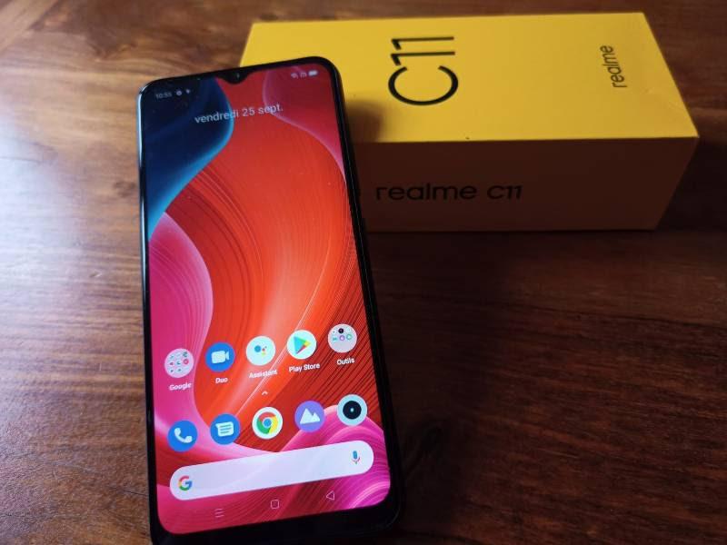 Realme C11 : le meilleur smartphone à 100 euros ?