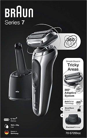 Acheter le rasoir électrique 'Braun série 7 70-S7200cc'