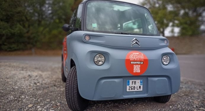 [ESSAI AUTO] Citroën Ami : cette voiture est un ovni !
