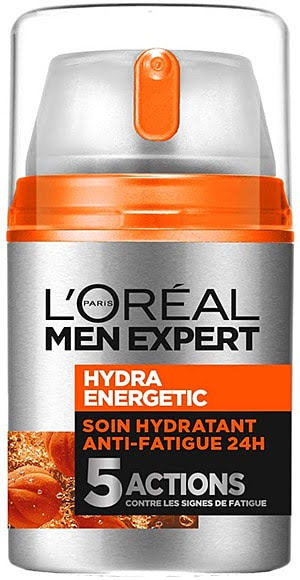 Acheter le soin visage homme anti-fatigue Hydra Energetic 'L'OREAL MEN EXPERT'