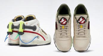 Reebok X Ghostbusters : des sneakers qui font flipper !