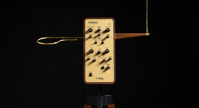 Thérémine Claravox Centennial : l'instrument de musique le plus dingue de l'année