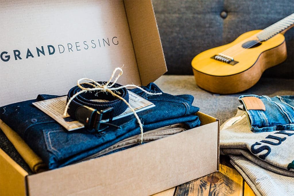 Le meilleur de la box mensuelle par bonnement - Le Grand Dressing