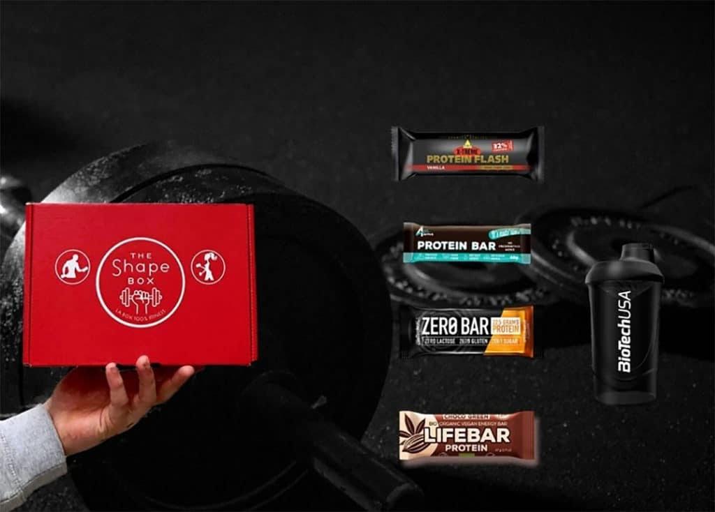 Le meilleur de la box mensuelle par bonnement - The Shape Box