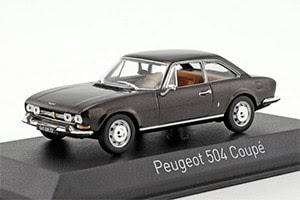 Acheter la 'Peugeot 504 Coupé Miniature 1/43ème'
