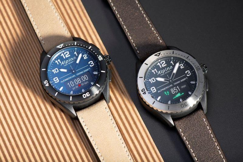 6 bracelets au choix pour l'Alpina AlpinerX Alive