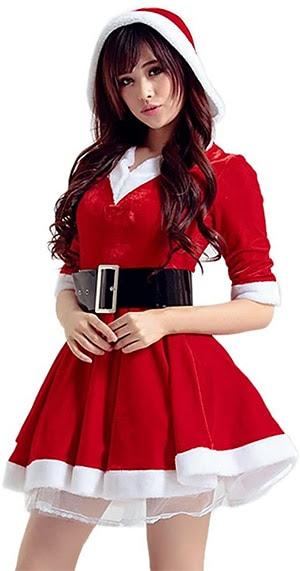 Acheter ce costume de Mère Noel (15.99 €)