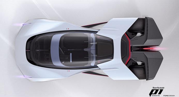 L'hypercar Team Fordzilla P1 passe du virtuel au réel