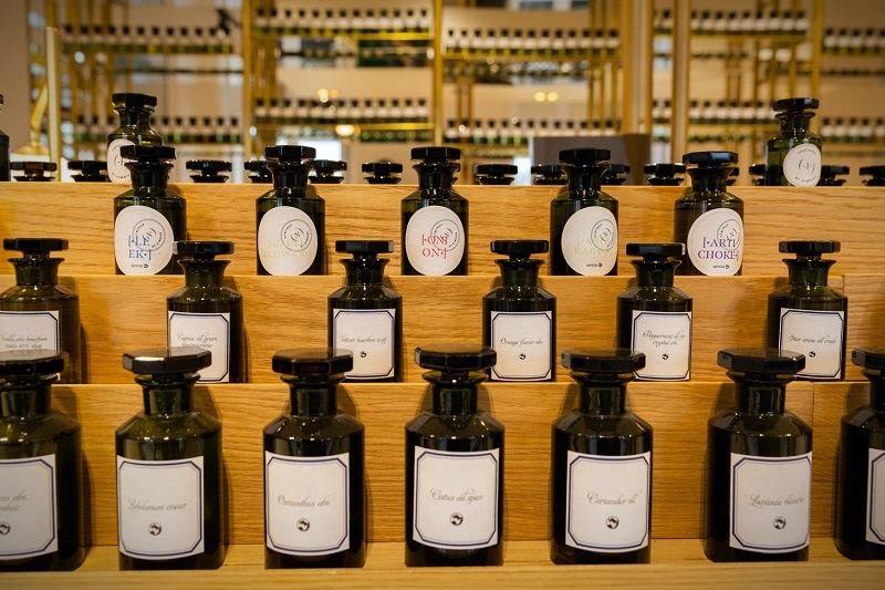 Parfums - les nouveaux ingrédients Garden Lab