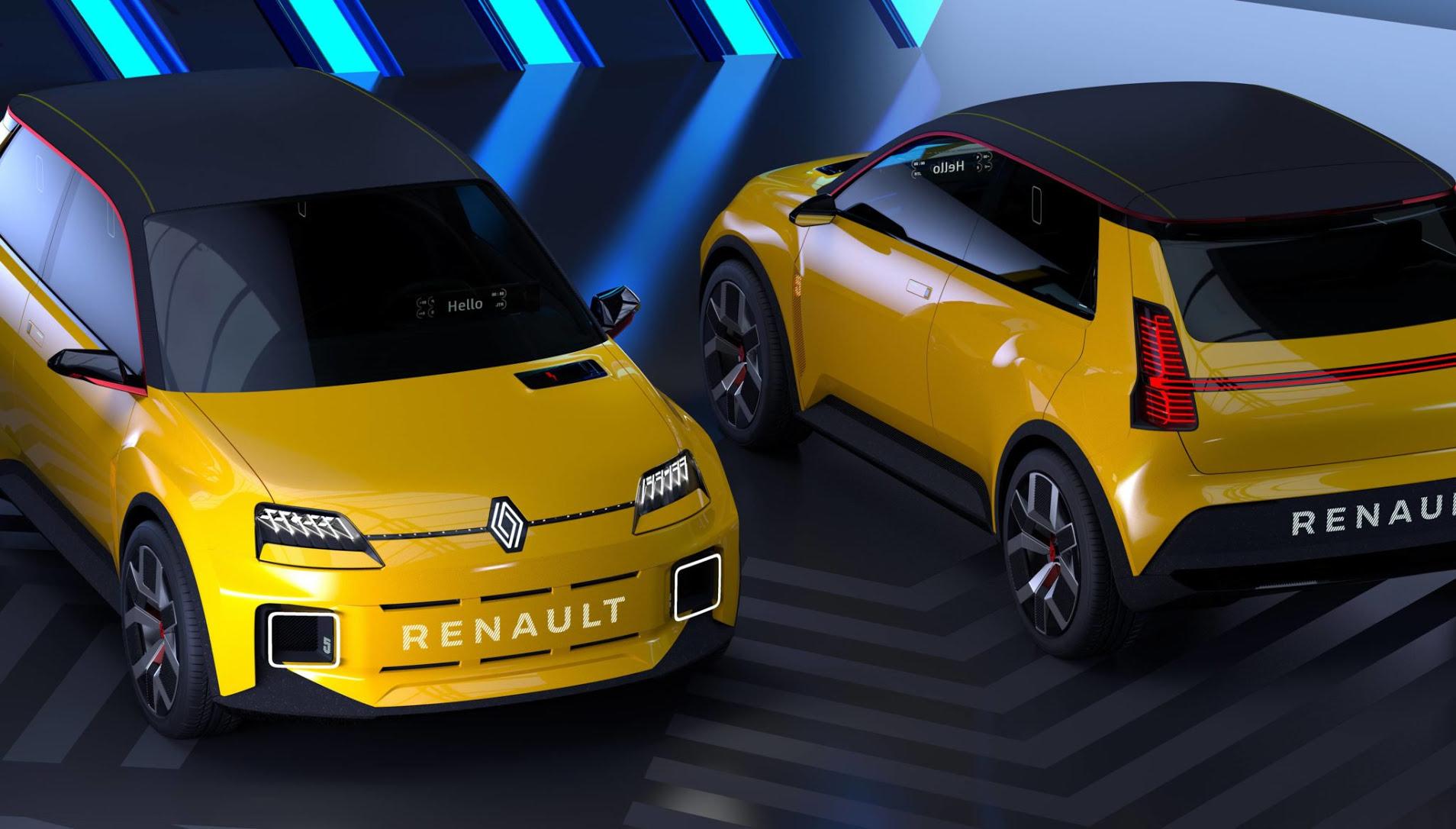 Renault 5 Prototype, la R5 électrique