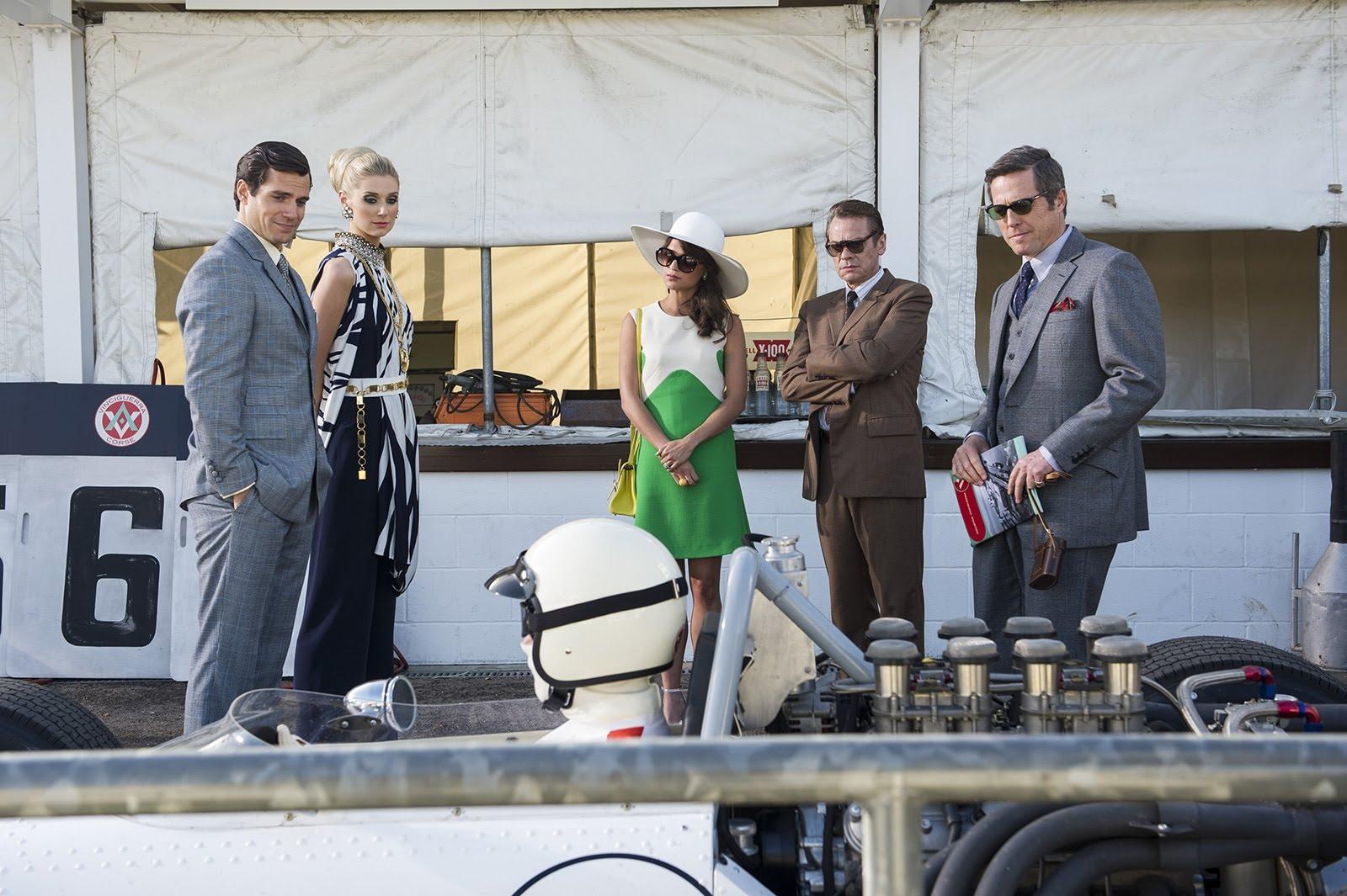 Agents très spéciaux - Code U.N.C.L.E: Sylvester Groth, Alicia Vikander, Elizabeth Debicki, Hugh Grant, Henry Cavill