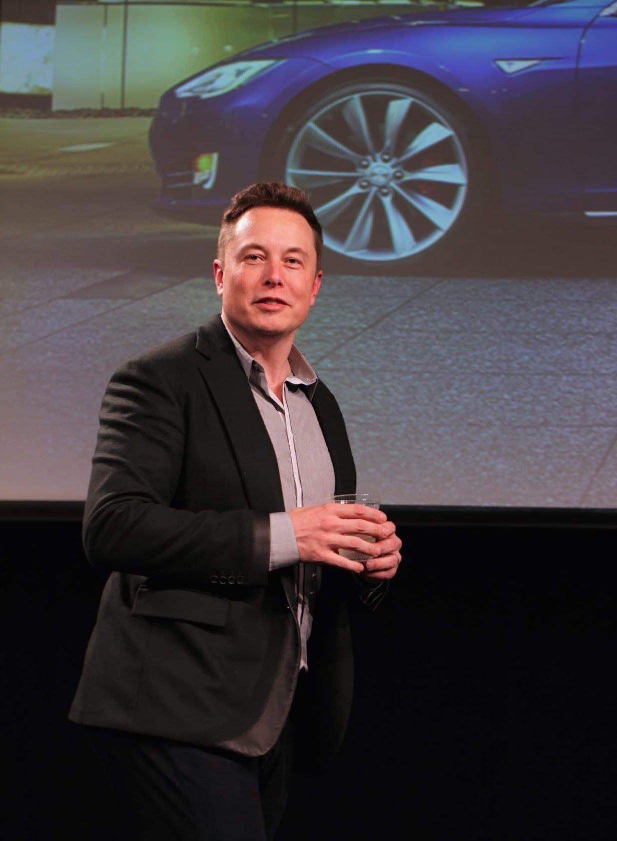 Elon Musk en 2015 - (c) Steve Jurvetson