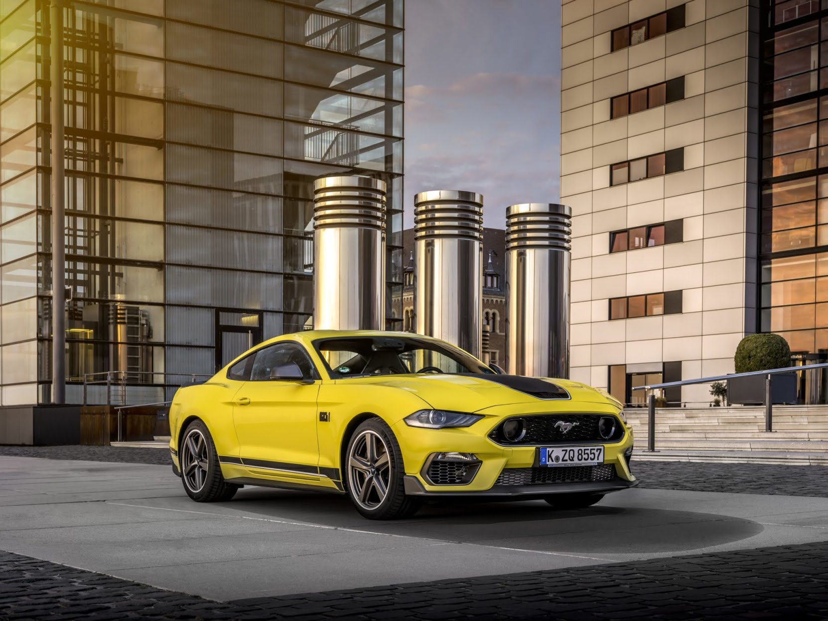 Nouvelle Ford Mustang Mach 1 2021