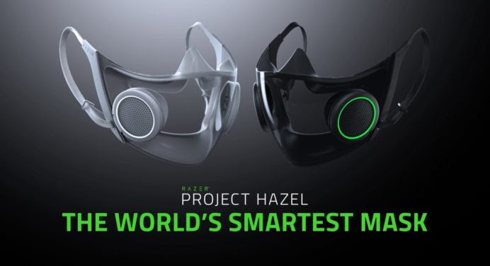 Razer imagine un concept de masque intelligent appelé Projet Hazel