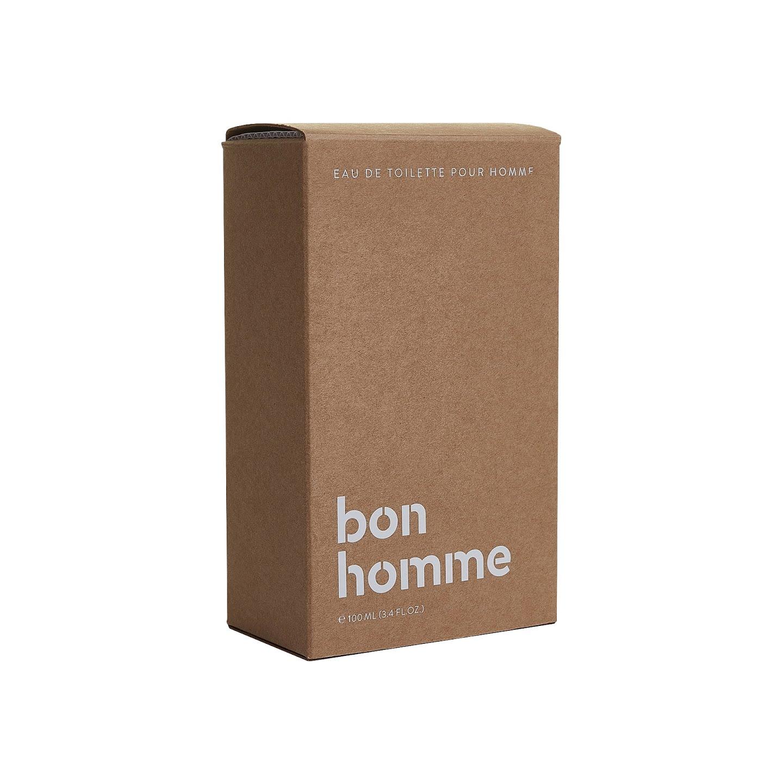 Emballage du parfum Jules Bon Homme