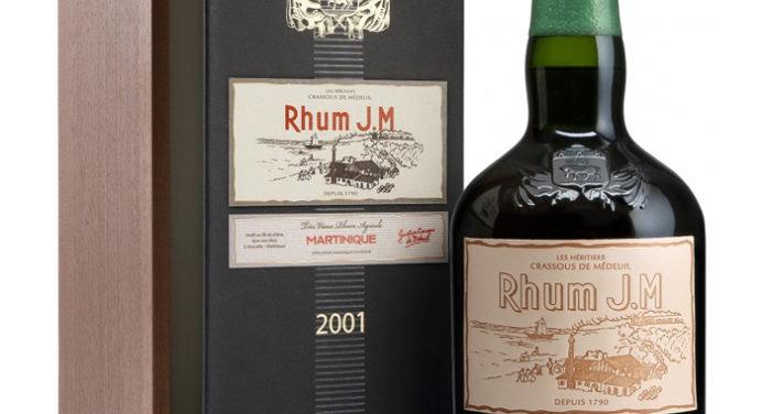 Dégustation : Rhum vieux JM 2001 brut de fût 15 ans d'âge