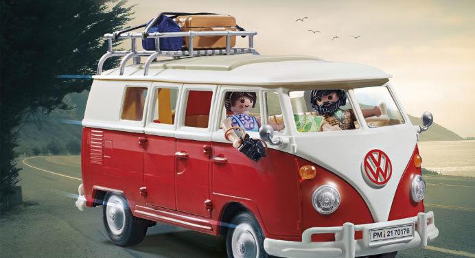 Le Combi et la Coccinelle Volkswagen font leur arrivée chez Playmobil