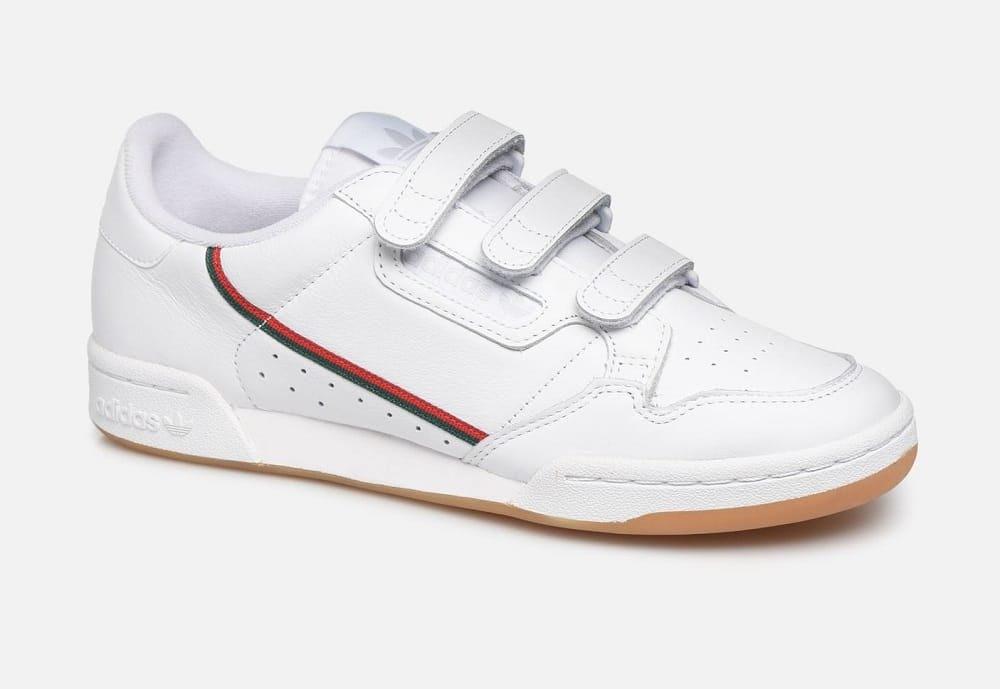 Baskets à scratch Adidas Originals Continental 80 Strap