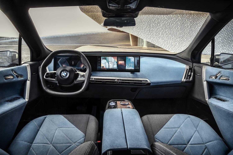 Intérieur de la BMW iX
