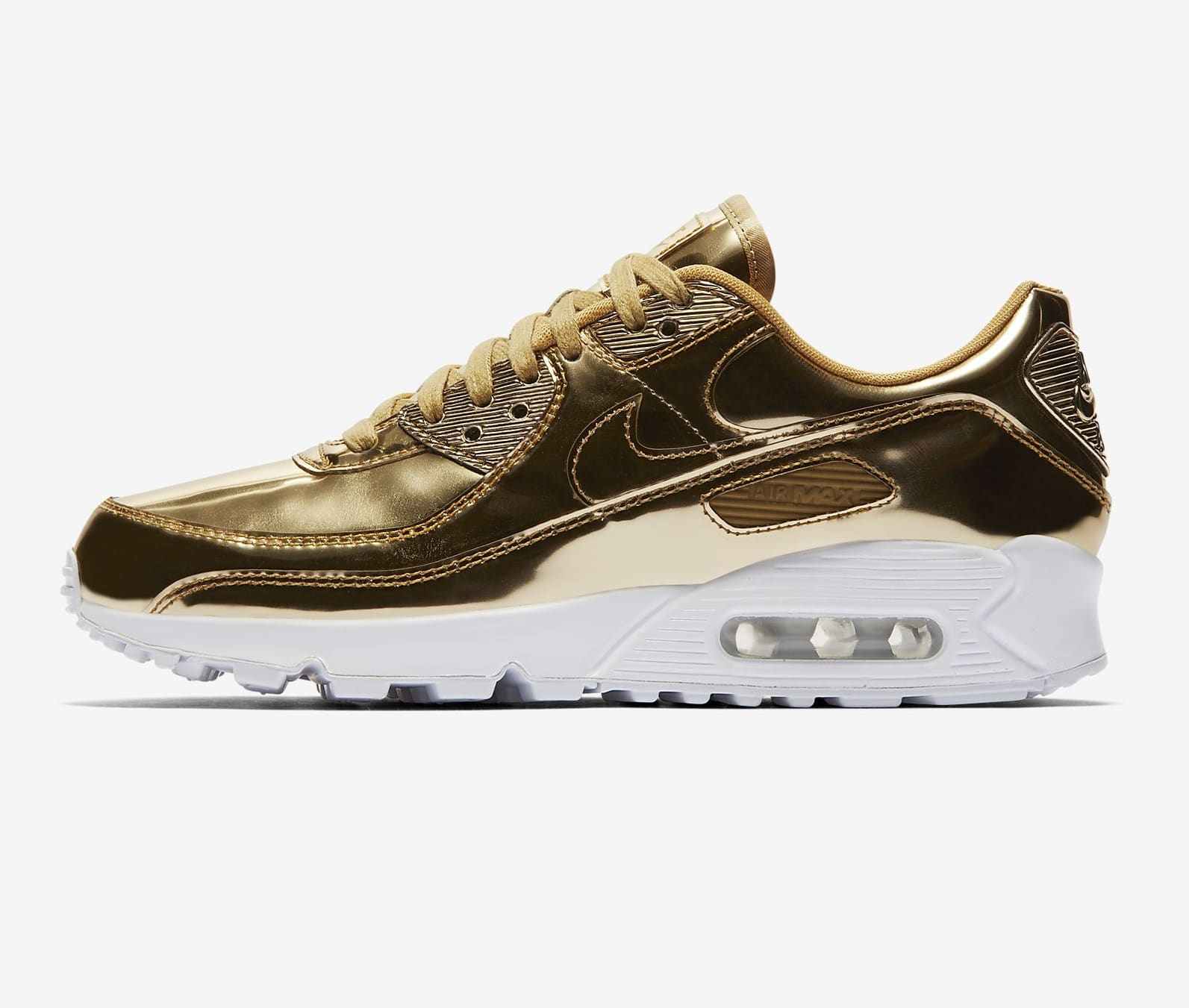 Soldes Nike - Nike Air Max 90 SP or
