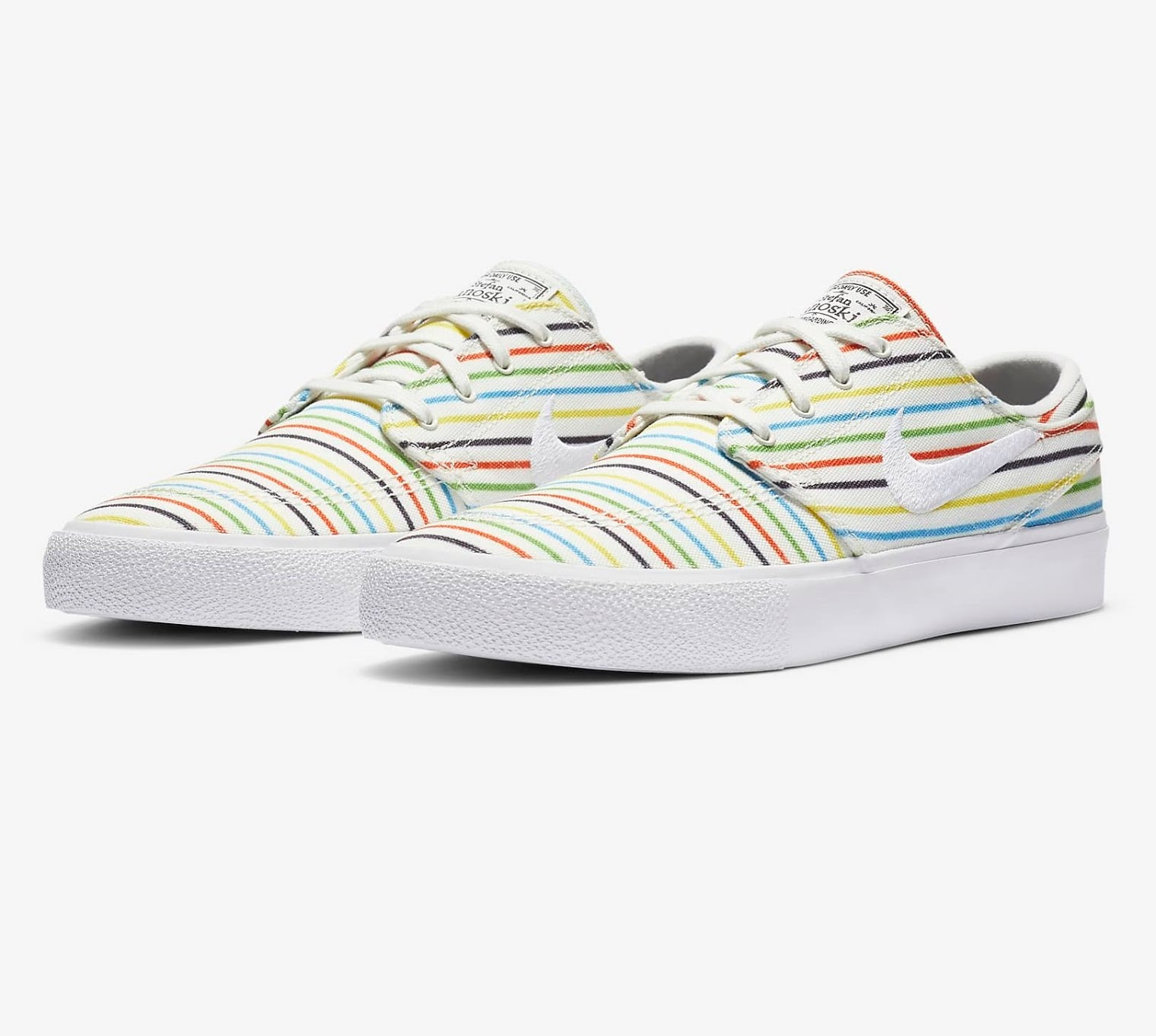 Soldes Nike - Chaussures en toile Nike SB Zoom Stefan Janoski Canvas RM Premium