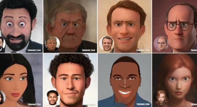 ToonMe : l'application qui vous transforme en personnage Pixar